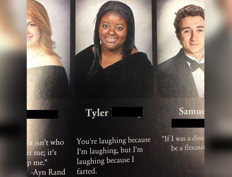 high school senior yearbook quotes that made it past the editor